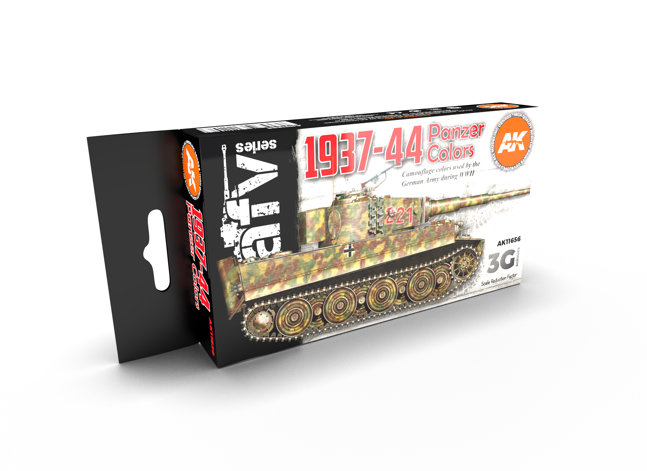 AK Interactive 3G German War Colors 37-44