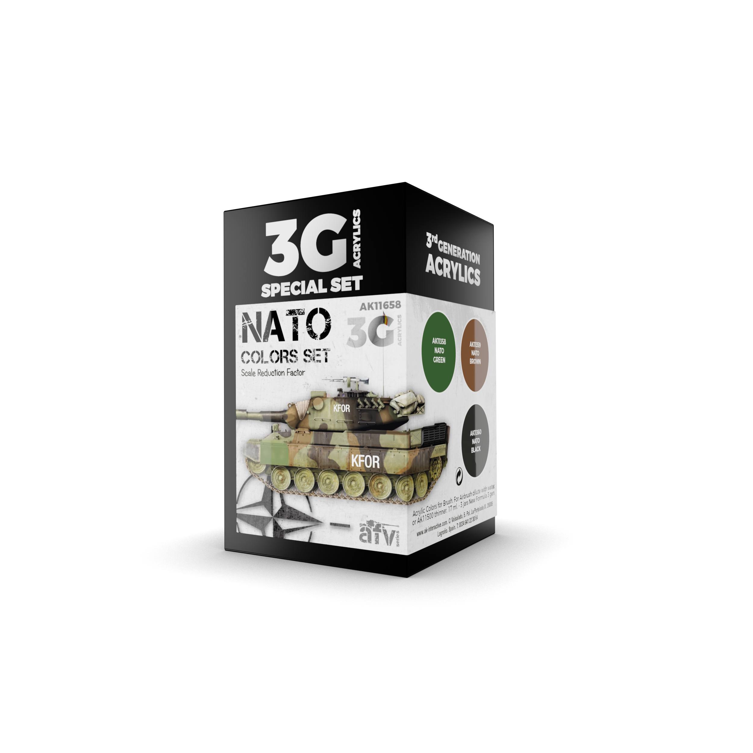 AK Interactive 3G NATO Colors