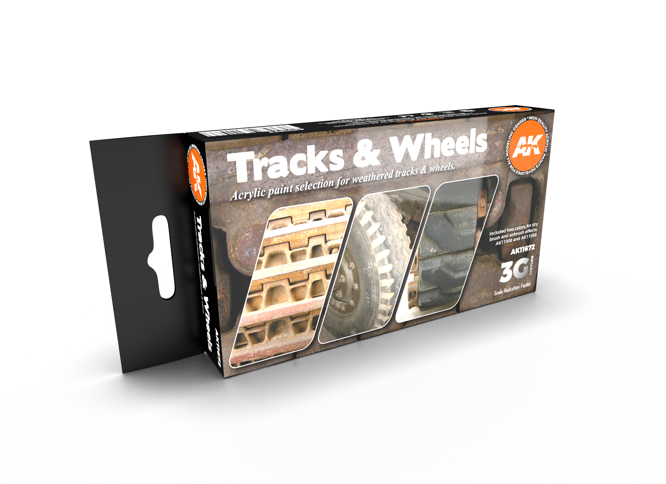 AK Interactive 3G Tracks And Wheels