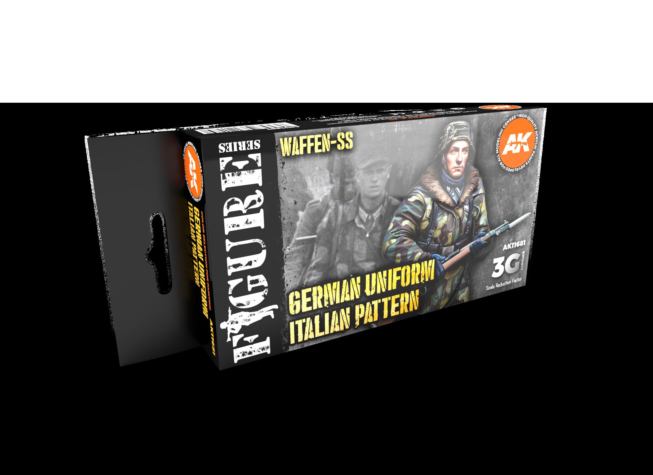 AK Interactive 3G WWII German Italian Camouflage