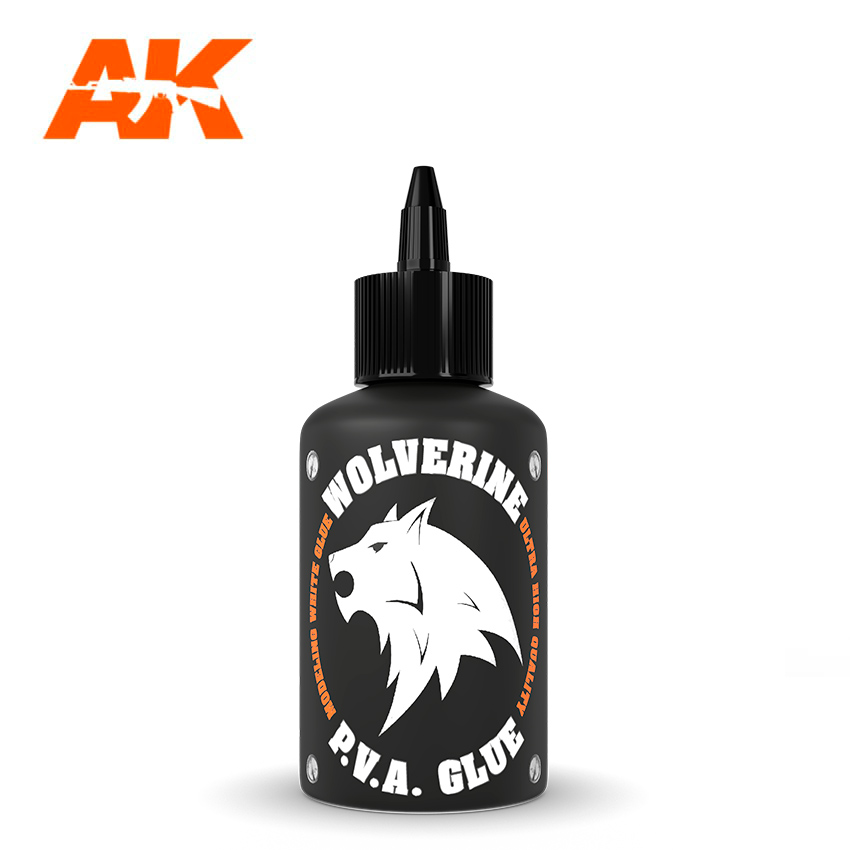 AK Interactive Wolverine P.V.A Glue, 100ml