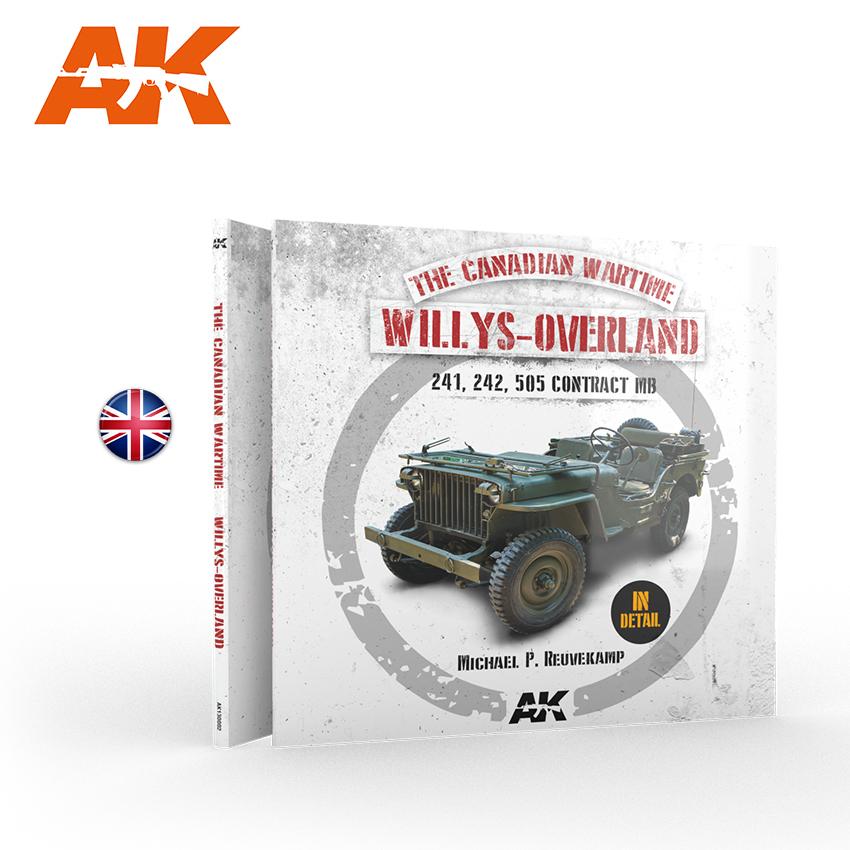 AK Interactive WILLYS-OVERLAND (Canadian) Walkaround (EN)