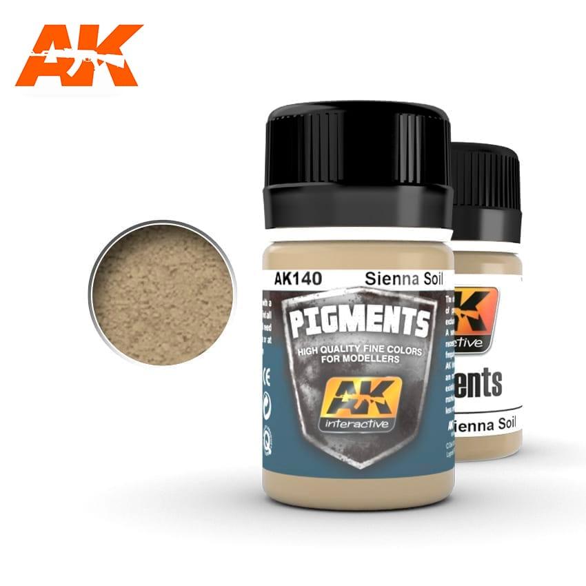 AK Interactive Sienna Soil