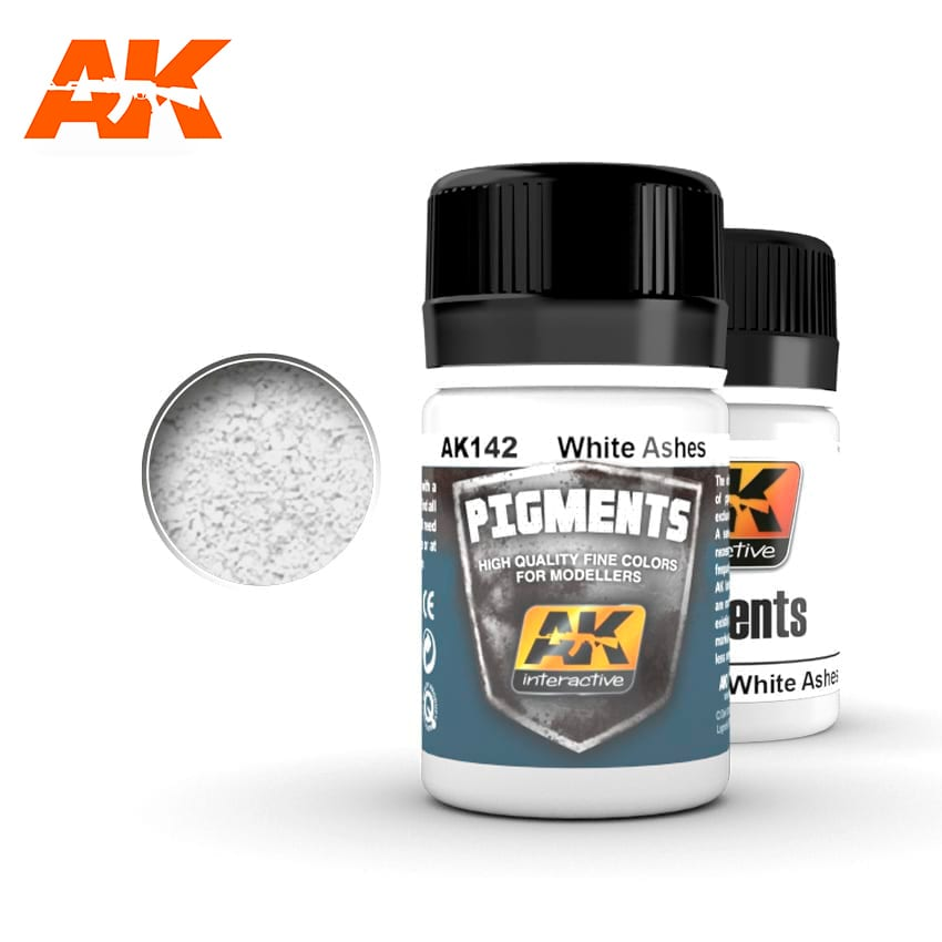 AK Interactive White Ashes