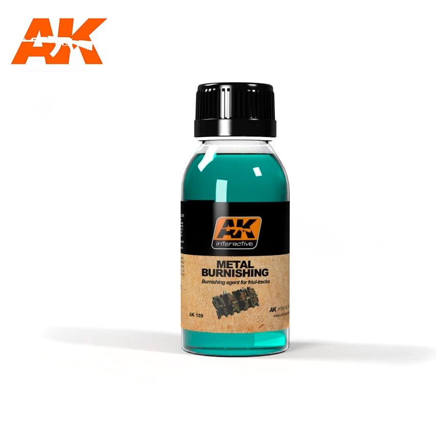 AK Interactive Metal Burnishing Fluid