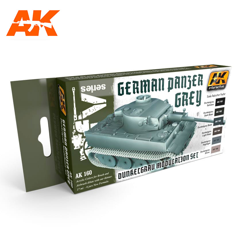 AK Interactive Panzer Grey Modulation Set