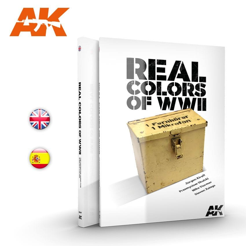 AK Interactive WWII Real Colors - English