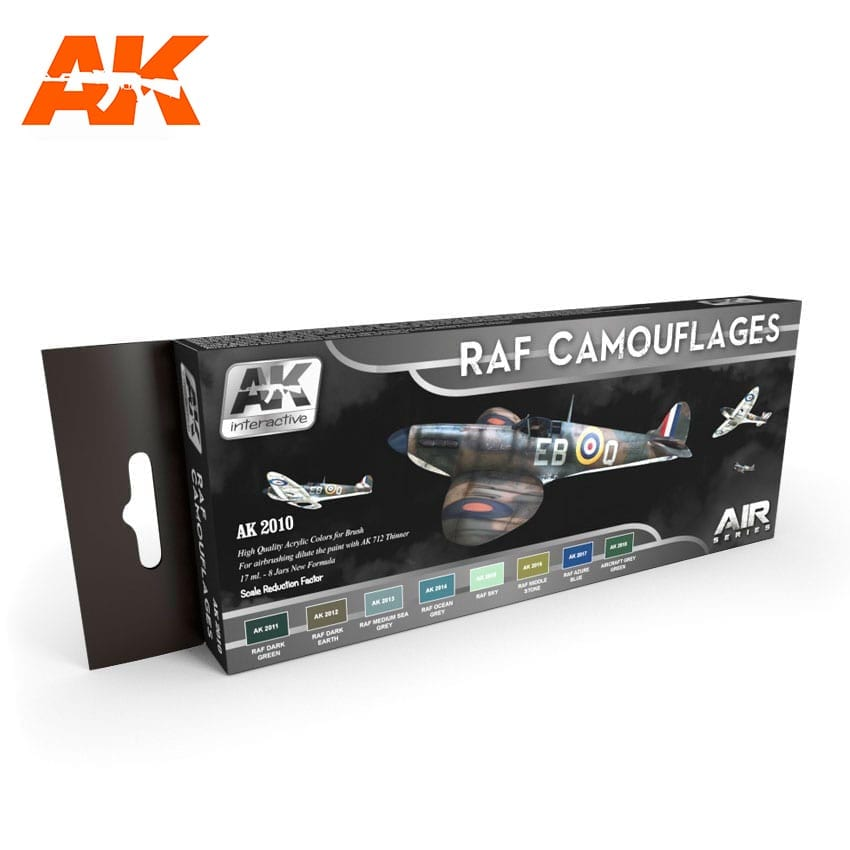 AK Interactive RAF Camouflages Colors Set