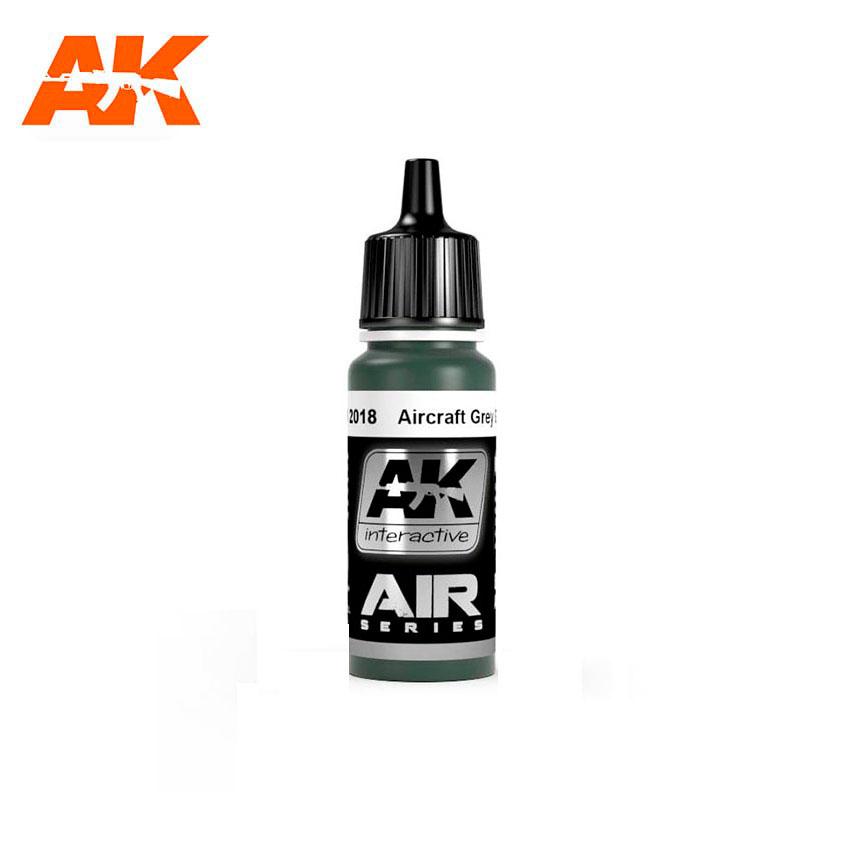 AK Interactive AIRCRAFT GREY GREEN