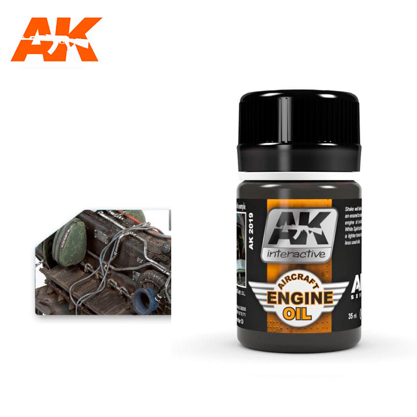AK Interactive Aircraft Engine Oil