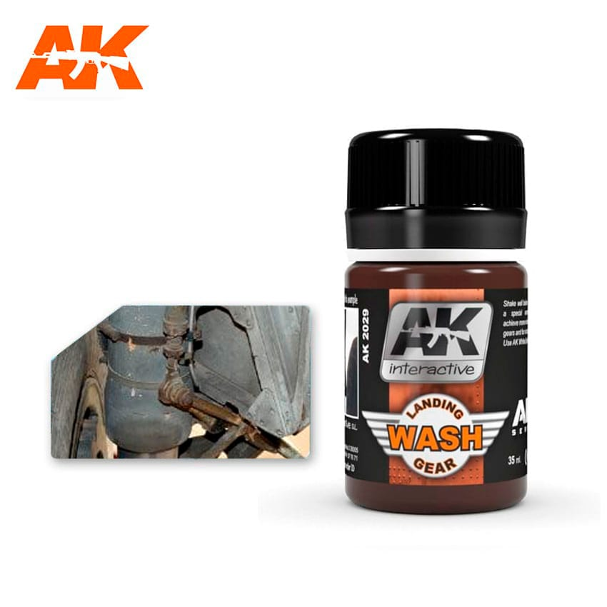 AK Interactive Wash For Landing Gear