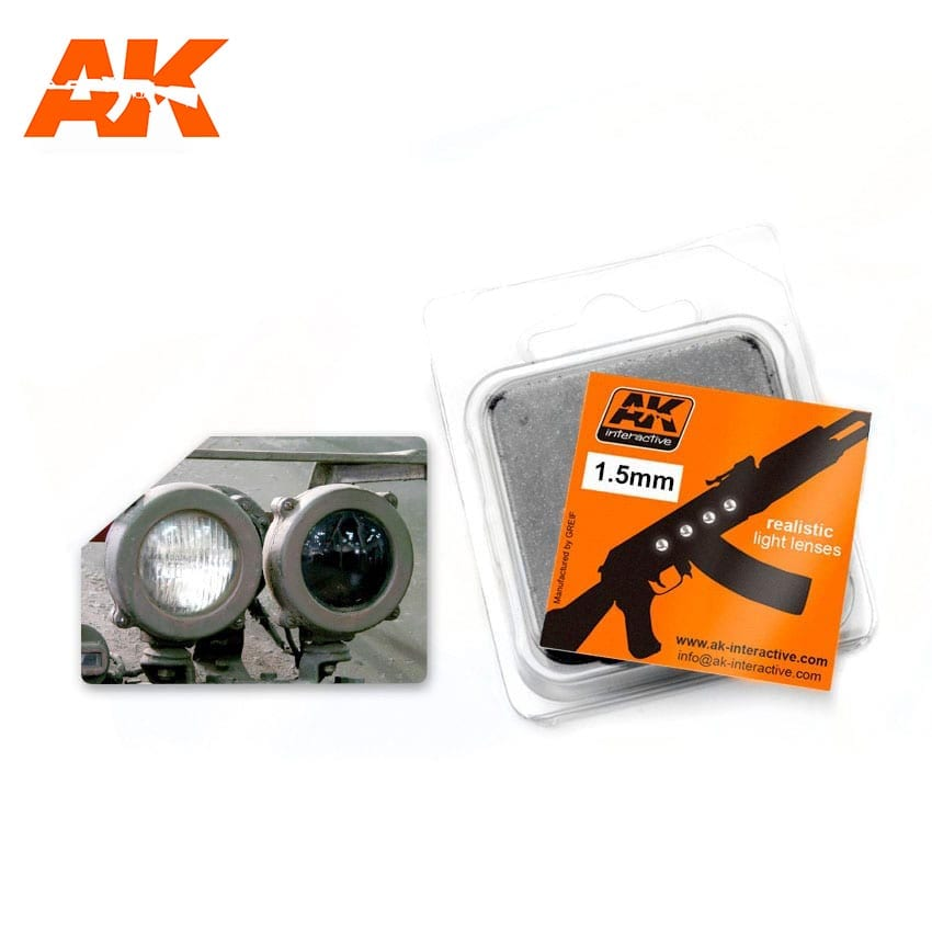 AK Interactive White 1,5mm