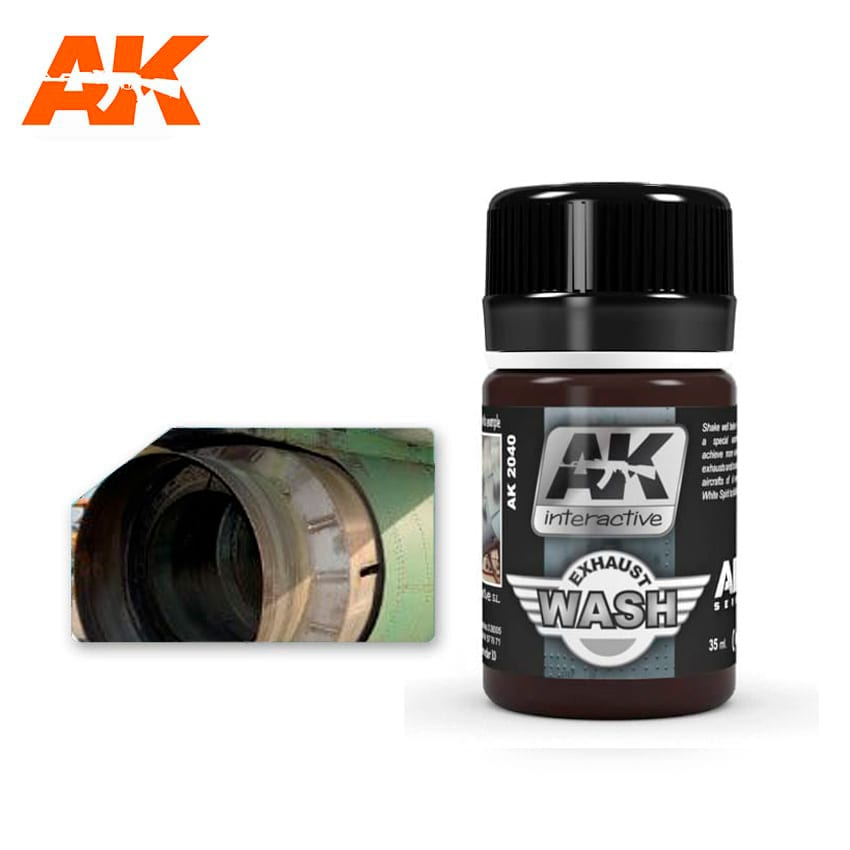 AK Interactive Wash For Exhaust