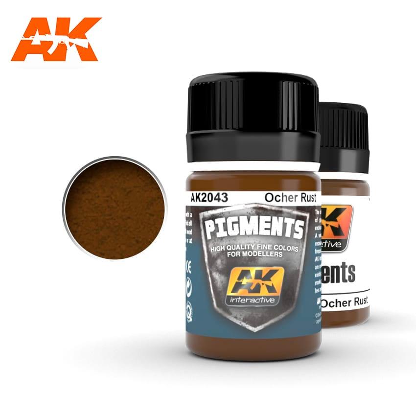 AK Interactive Ocher Rust
