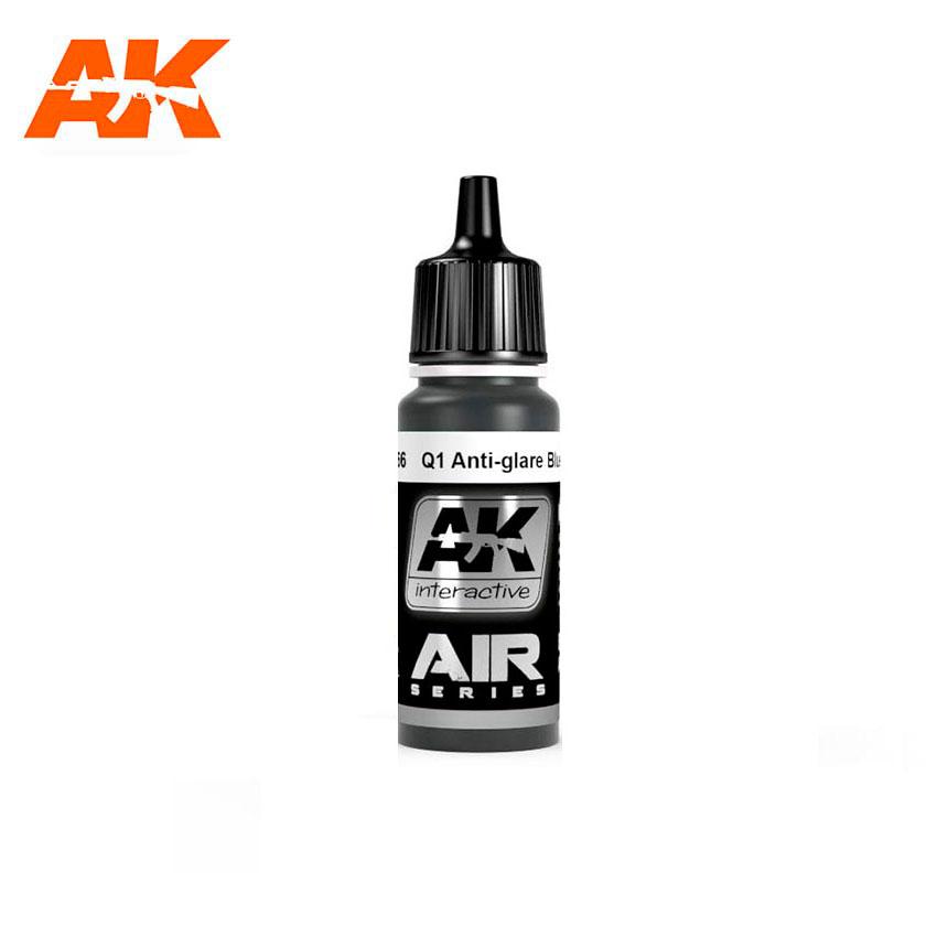 AK Interactive Q1 ANTI-GLARE BLUE BLACK