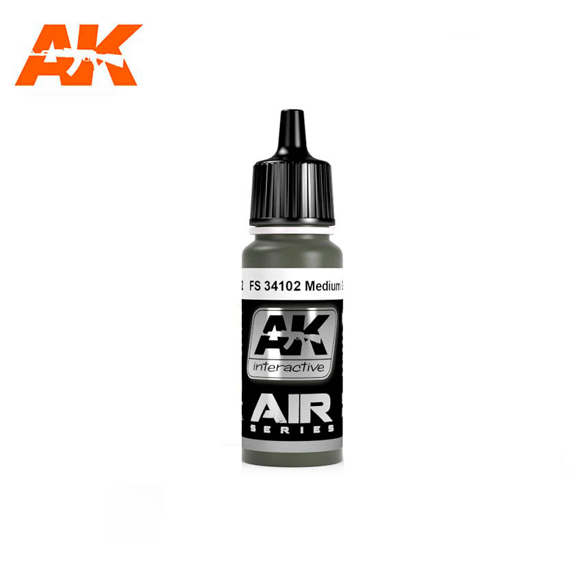 AK Interactive FS 34102 MEDIUM GREEN
