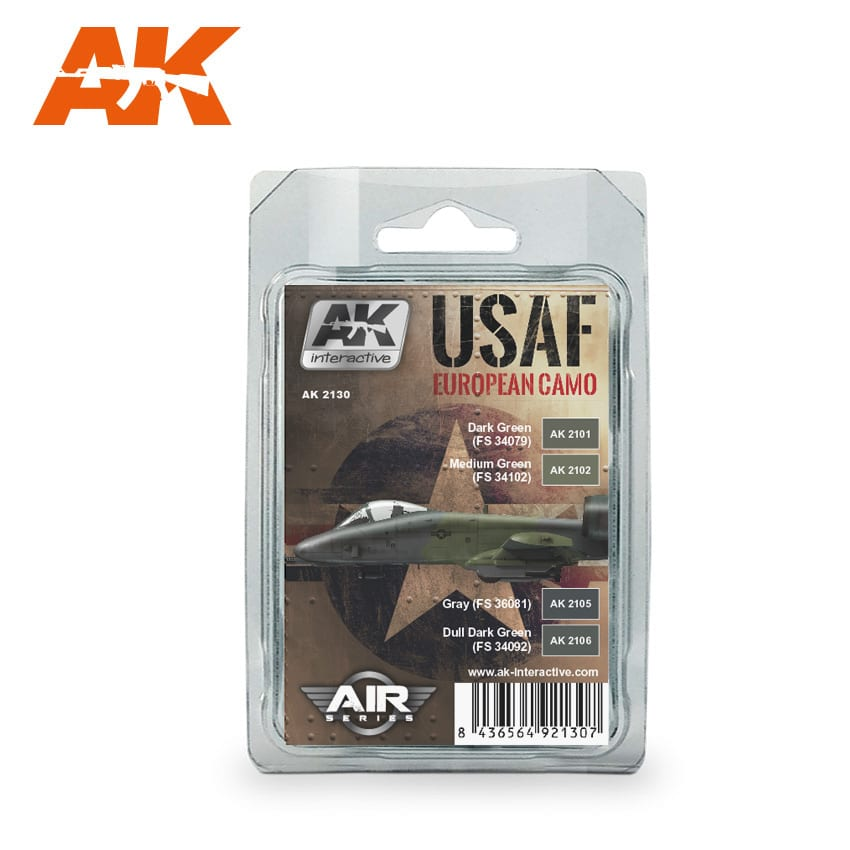 AK Interactive USAF European Camo