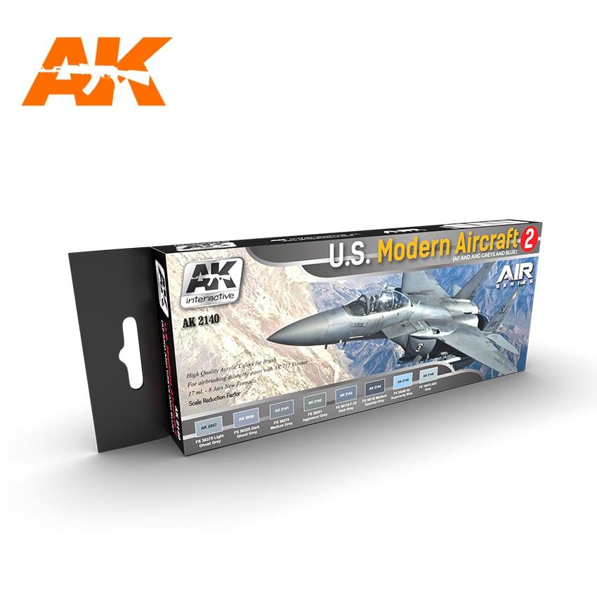 AK Interactive U.S. Modern Aircraft 2
