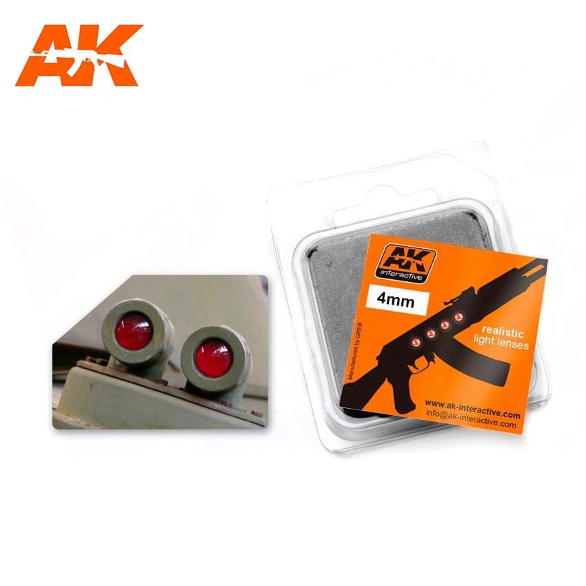 AK Interactive Red 4mm