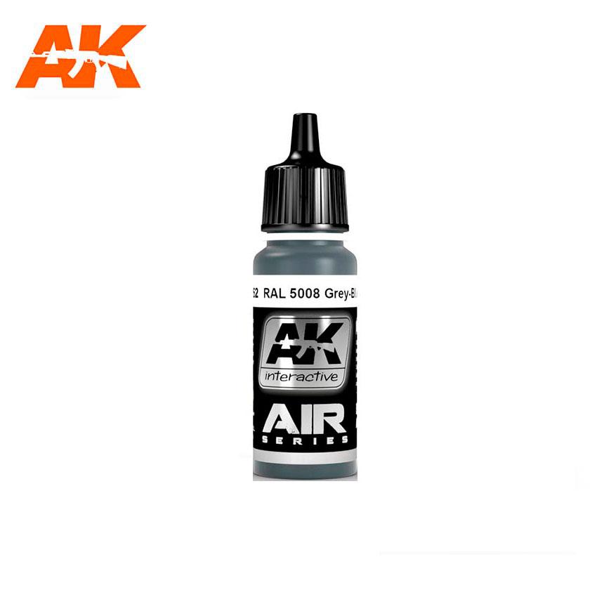 AK Interactive RAL 5008 Grey-Blue (Graublau) 17ml