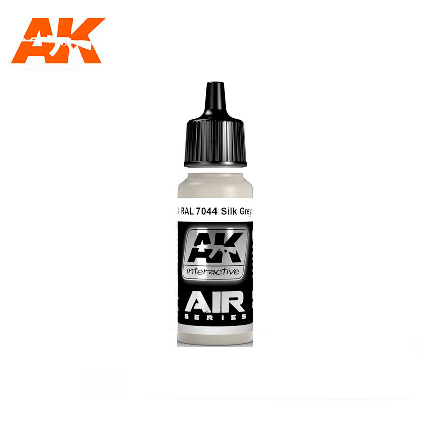 AK Interactive RAL 7044 Silk Grey (Seidengrau) 17ml