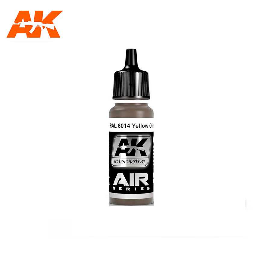 AK Interactive RAL 6014 Yellow Olive (Gelboliv) 17ml