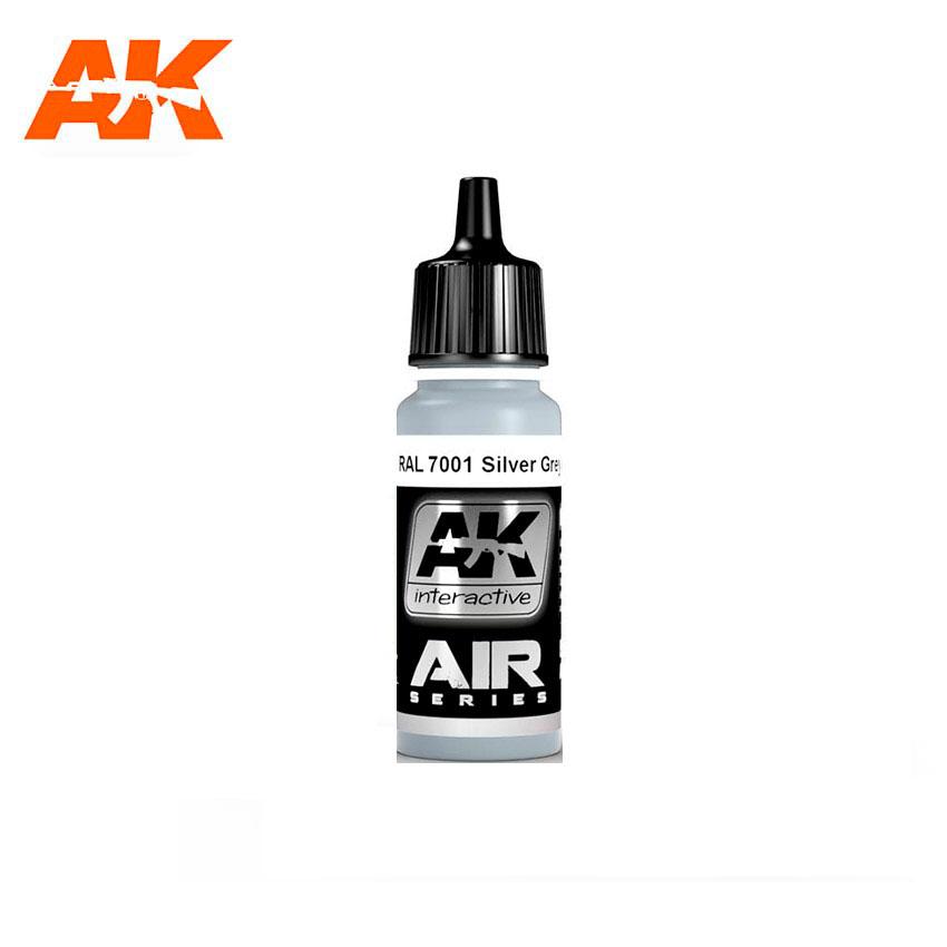 AK Interactive RAL 7001 Silver Grey (Silbergrau) 17ml