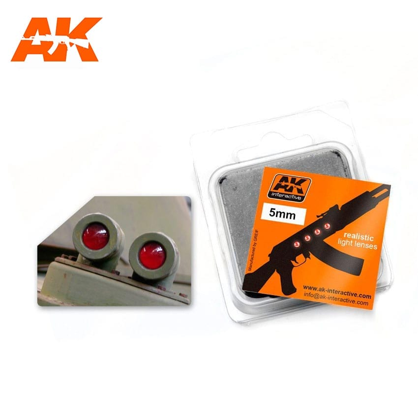 AK Interactive Red 5mm