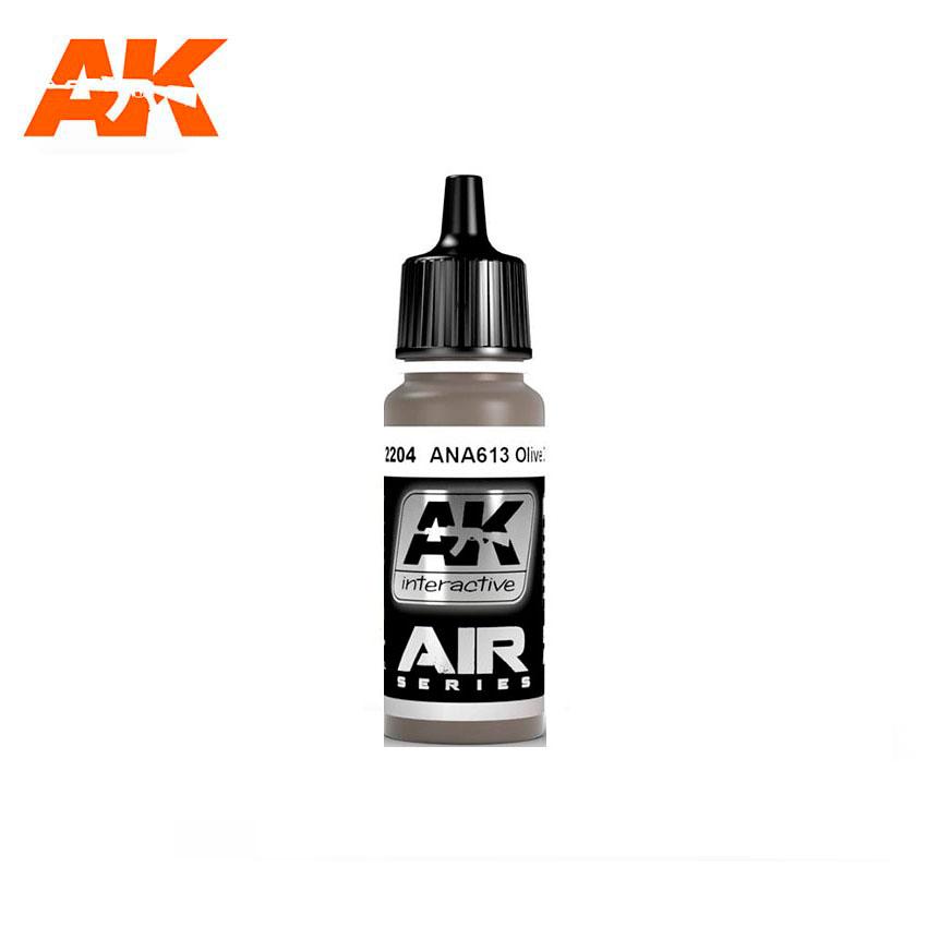 AK Interactive ANA613 Olive Drab 17ml