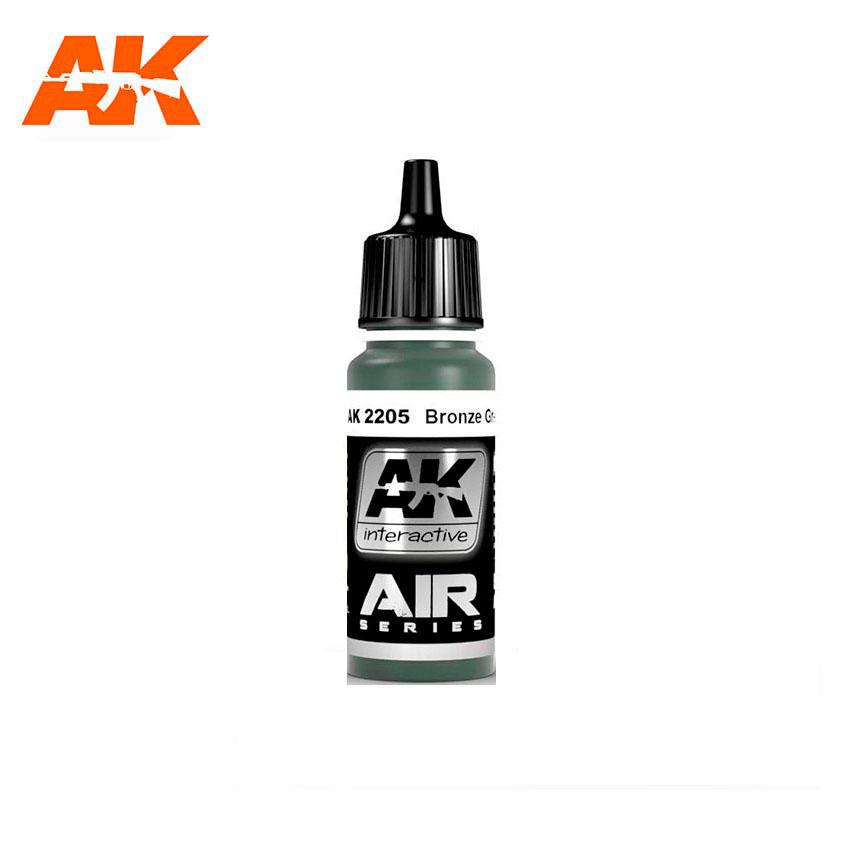 AK Interactive Bronze Green 17ml