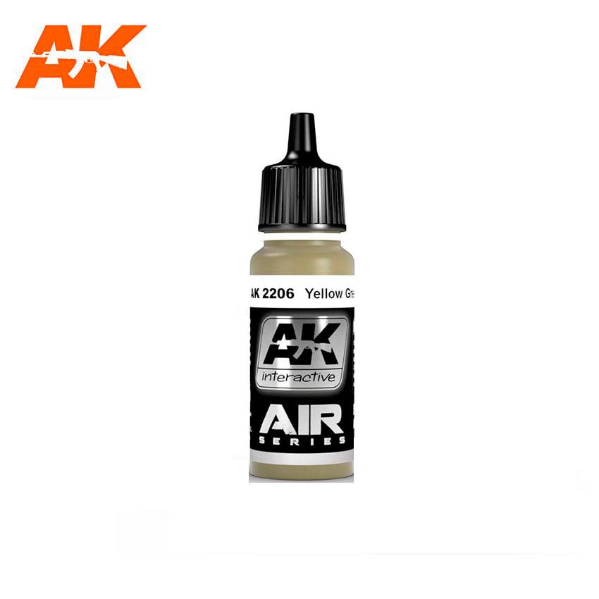 AK Interactive Yellow Green 17ml