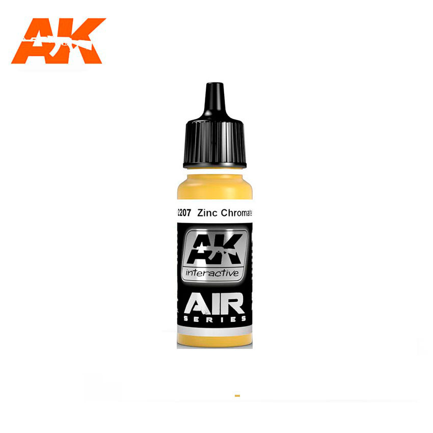 AK Interactive Zinc Chromate Yellow 17ml
