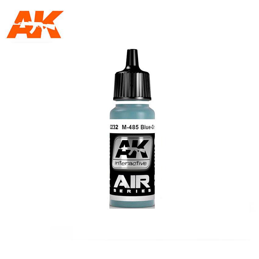 AK Interactive M-485 Blue Gray 17ml