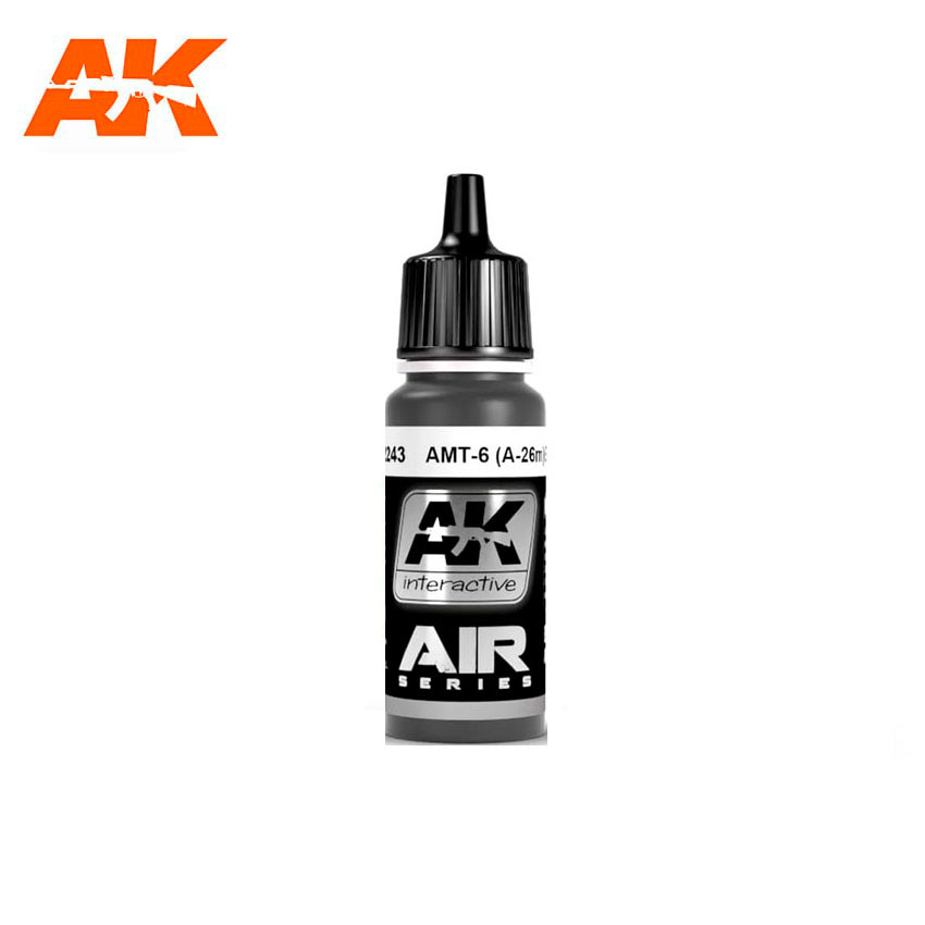 AK Interactive AMT-7 (A-26m) Black