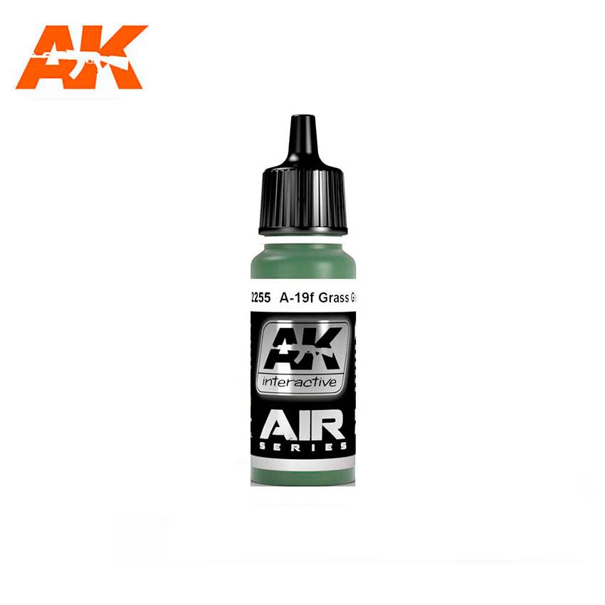 AK Interactive A-19f Grass Green 17ml