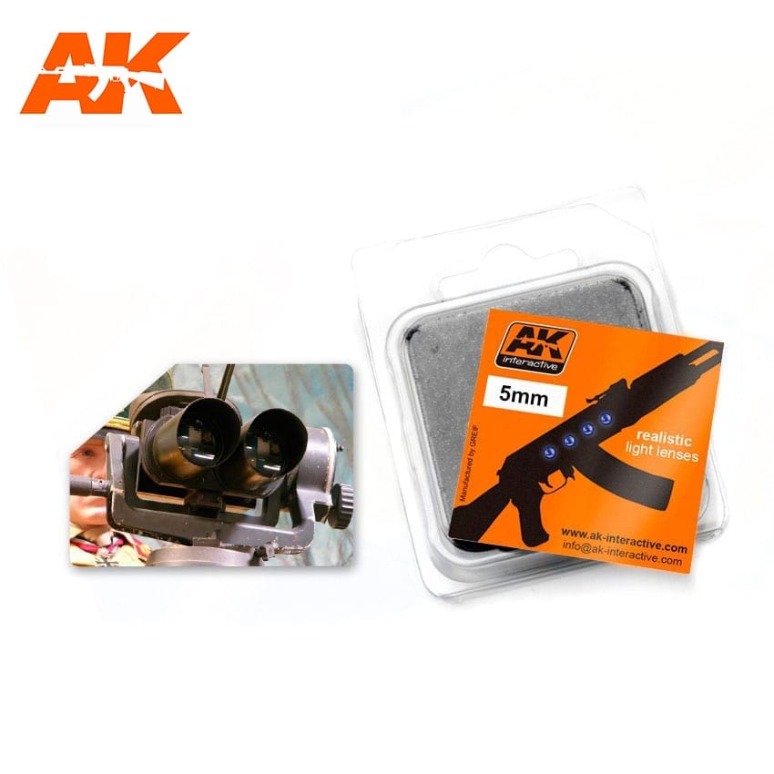 AK Interactive Optic Colour 5mm Lenses