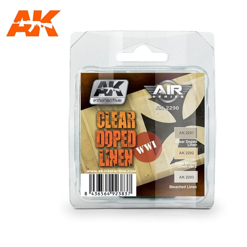 AK Interactive Clear Doped Linen