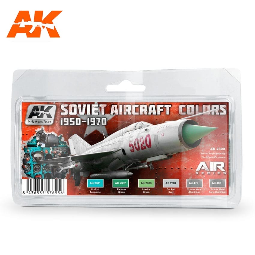 AK Interactive Soviet Aircraft Colors 1950-1970