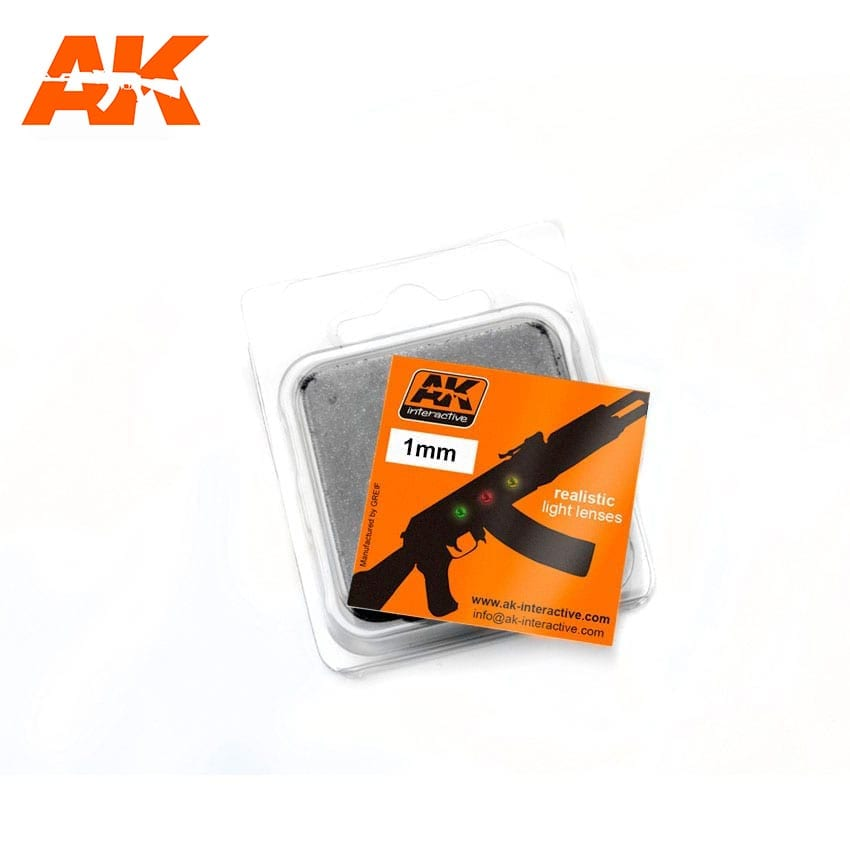 AK Interactive Lights For Planes 1mm