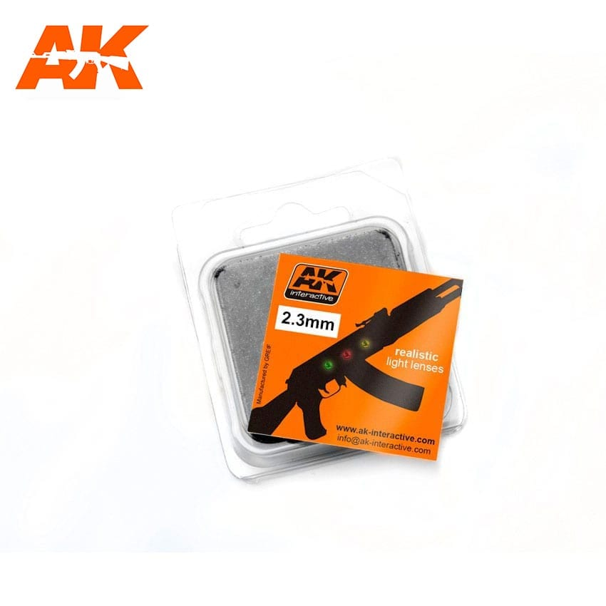 AK Interactive Lights For Planes 2,3mm