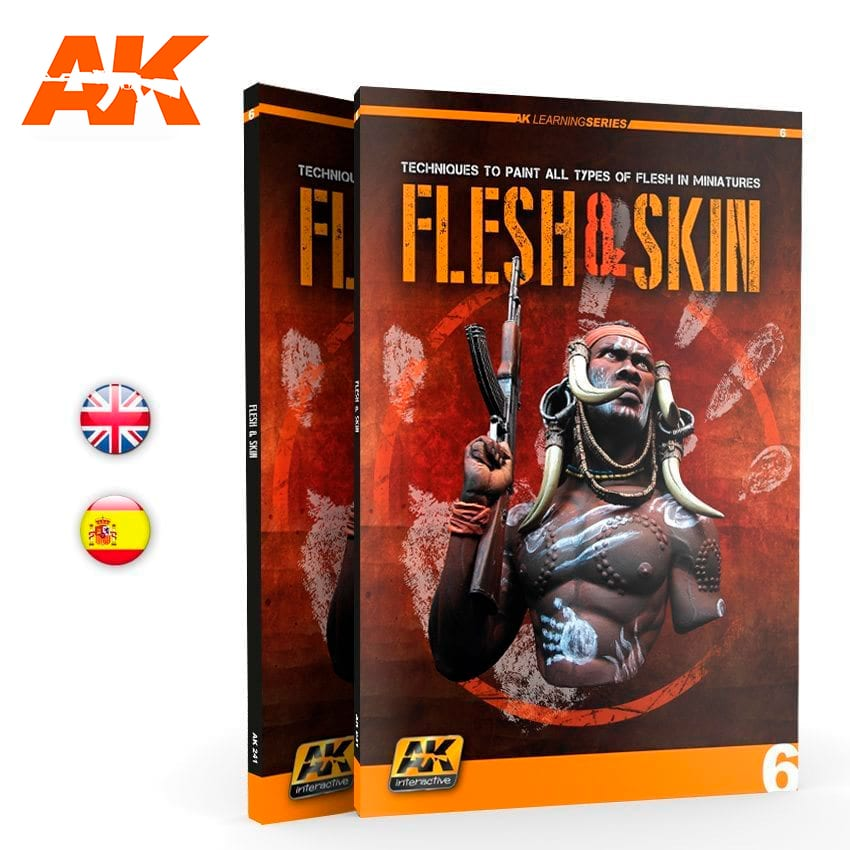 AK Interactive  FLESH AND SKIN (AK LEARNING SERIES No6) English
