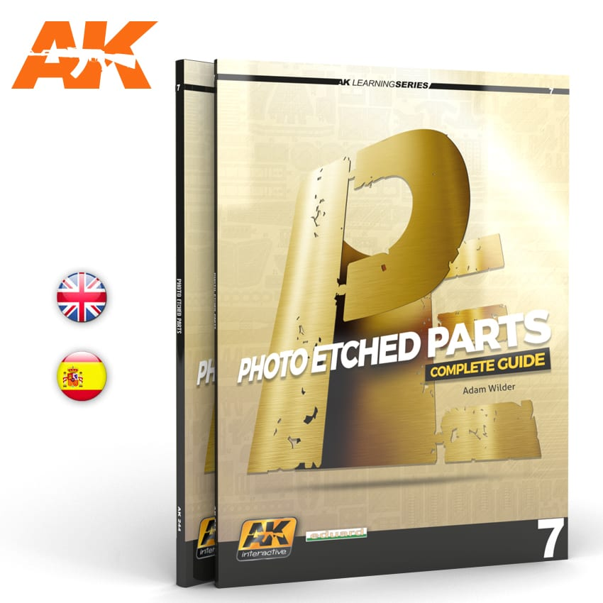 AK Interactive PHOTOETCH PARTS (AK LEARNING SERIES No7) English