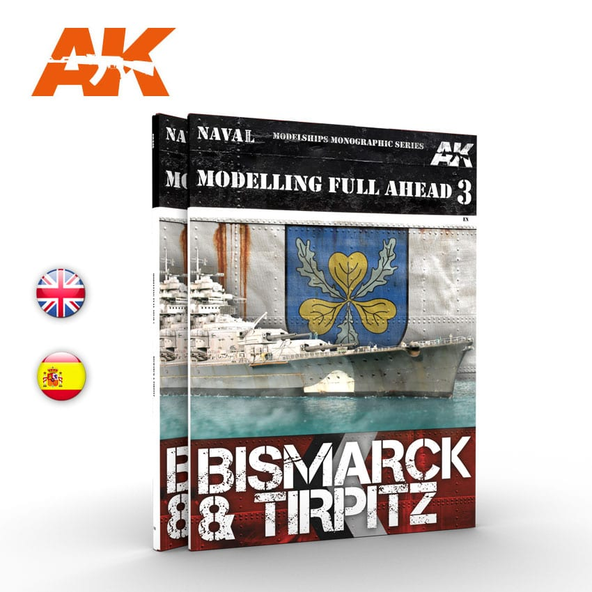 AK Interactive MODELLING FULL AHEAD 03 - English