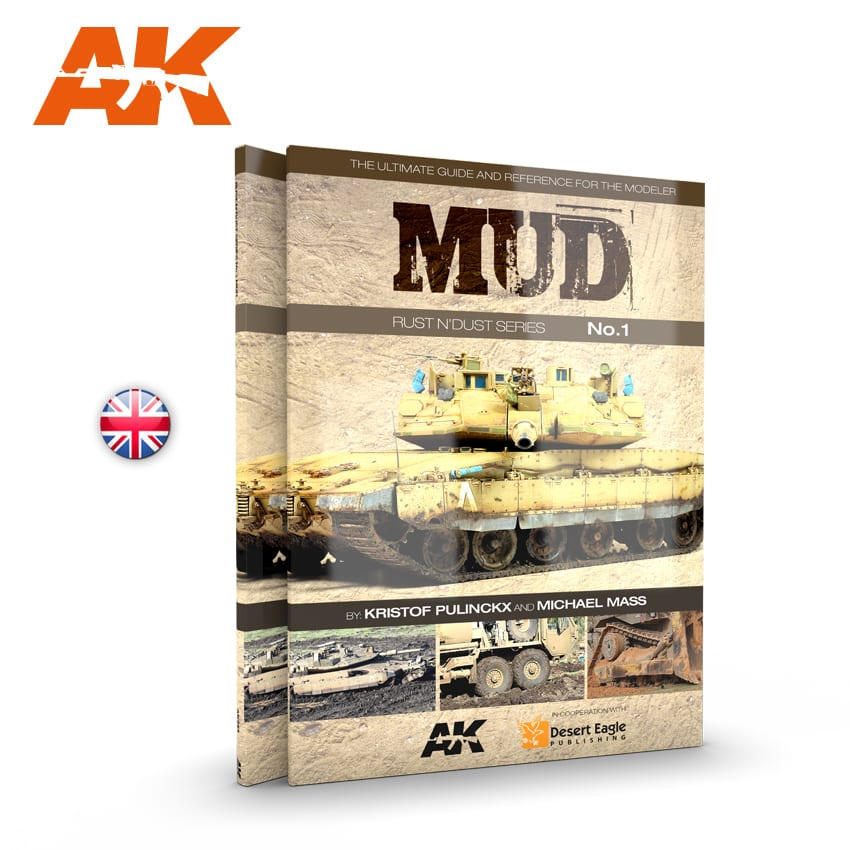 AK Interactive MUD. RUST N�DUST SERIES VOL.1 - English