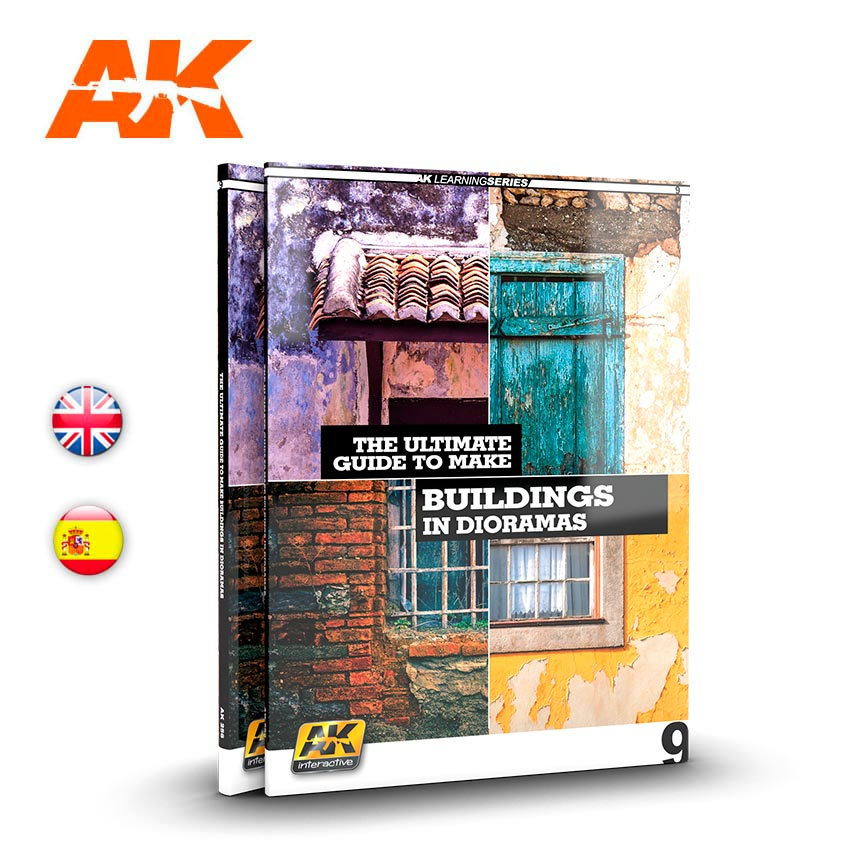AK Interactive AK Learning 09: The Ultimate Guide To Make Buildings In Dioramas - English