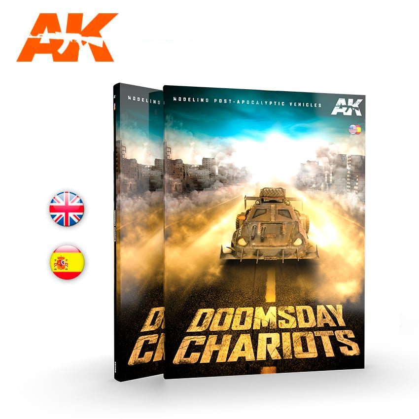 AK Interactive Doomsday Chariots Modeling Post-Apocalyptic Vehicles
