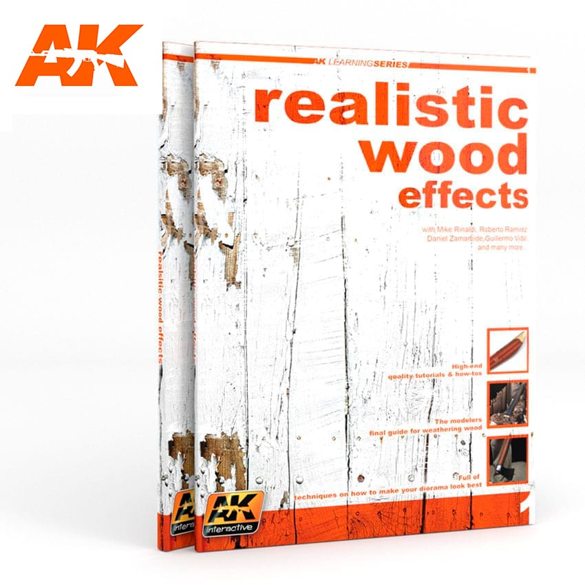 AK Interactive REALISTIC WOOD EFFECTS (AK LEARNING SERIES No1) English