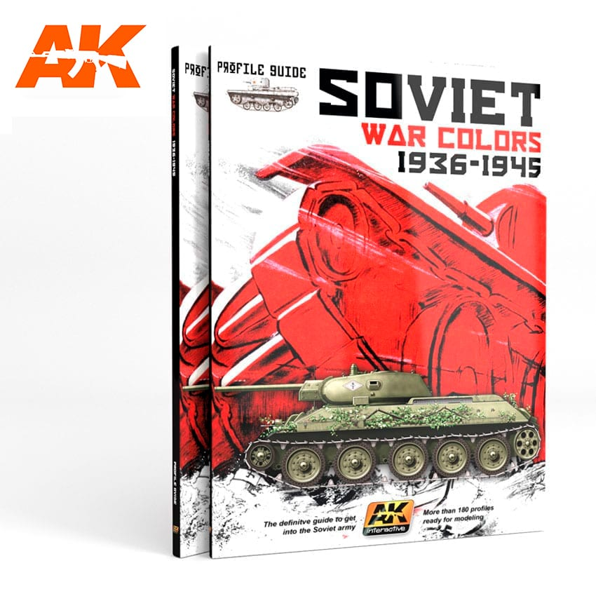 AK Interactive SOVIET WAR COLORS PROFILE GUIDE - English