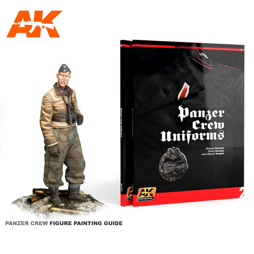 AK Interactive PANZER CREW UNIFORMS (AK LEARNING SERIES No2)  English