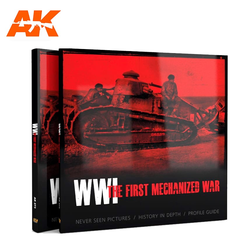 AK Interactive WWI THE FIRST MECHANIZED WAR English